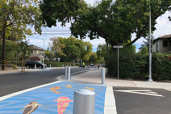 a1_sizing_Palo Alto Bike Blvd--Intersection--Bike Lane 2