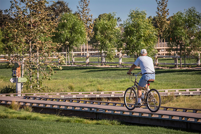 a1_sizing_transportation_Martial Cottle Park - Bike pathway