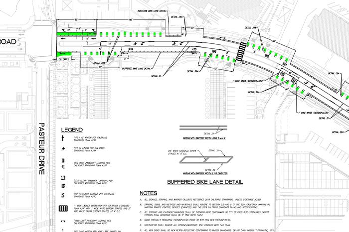 a1_sizing_transportation_Welch Road- Bike Schematic