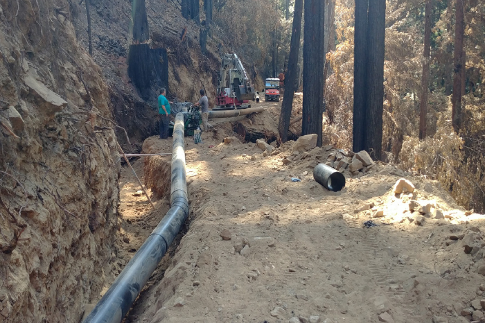Water- San Lorenzo Valley Water-Piping 1