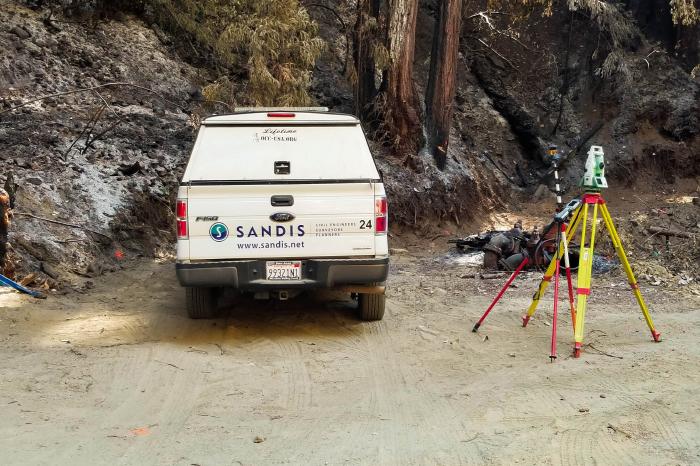 Water- San Lorenzo Valley Water-Sandis Truck Survey