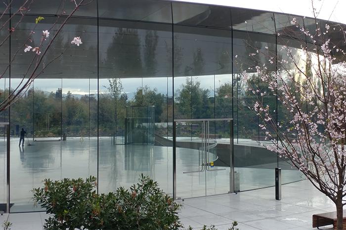 Workplace-Apple Glass Lobby closeup