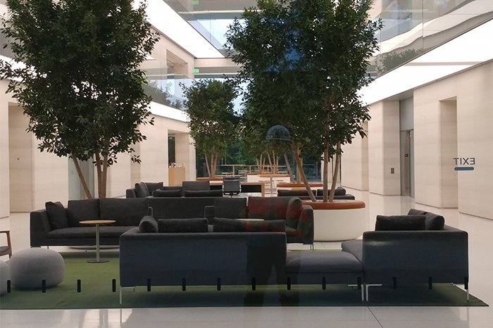 Workplace-Apple Office, insdie