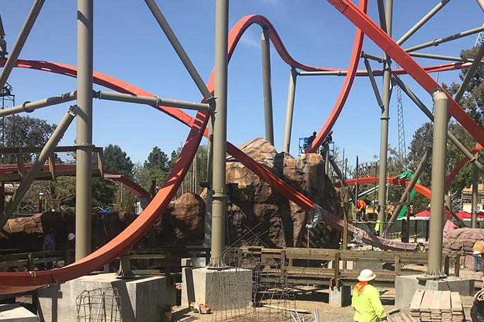 Great America_Coaster Construction 2