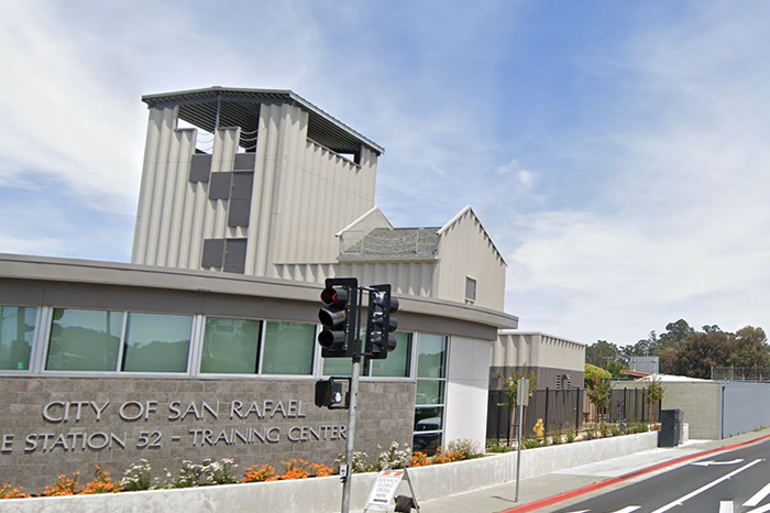 San Rafael Fire Station No. 52 -Google Earth 2
