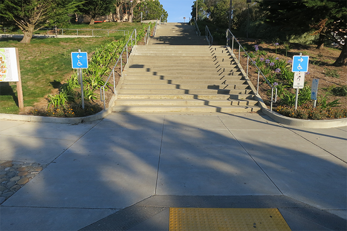 Planning- CCSF_building-A1-sizing-stairs